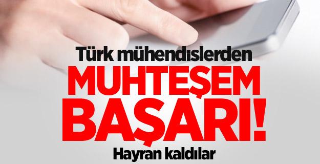 Türk mühendisler geliştirdi