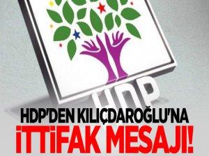 HDP'li vekilden Kılıçdaroğlu'na ittifak mesajı!
