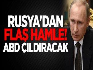 Rusya'dan ABD'yi çıldırtacak flaş hamle!