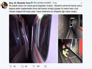 Ankara'da Metro Seferleri En Az İki Gün İptal
