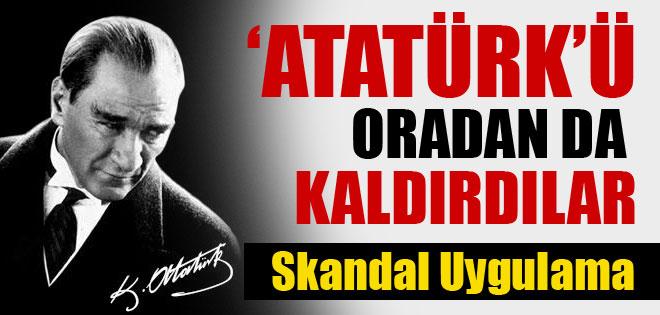 AKP'Lİ MELİH GÖKÇEK ATATÜRK İSMİNİ ORDANDA KALDIRDI !