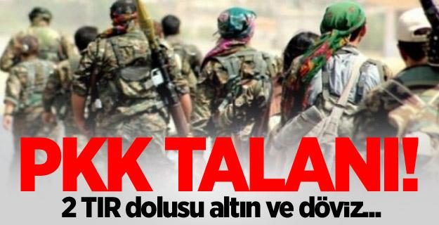PKK  soygunu: 2 TIR dolusu altın ve döviz...