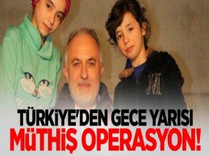 Türkiye'den gece yarısı müthiş operasyon!