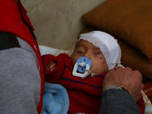 Doğu Guta Direnişinin Sembolü Kerim Bebek İdlib'e Ulaştı