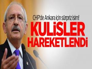 Ankara BŞB için CHP'de sürpriz isim! Kulisler hareketlendi