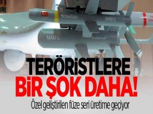 Özel geliştirilen füze seri üretime geçiyor, teröristler şokta...