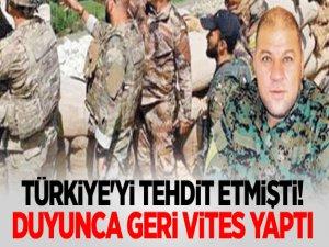 Türkiye'yi tehdit etmişti! Duyunca geri vites yaptı