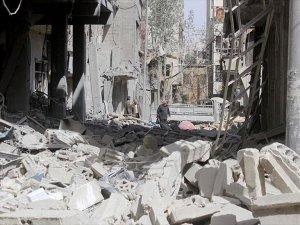 Doğu Guta'da 25 Sivili Öldürüldü