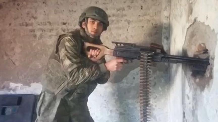 Bombayı teröristin elinde patlatmış