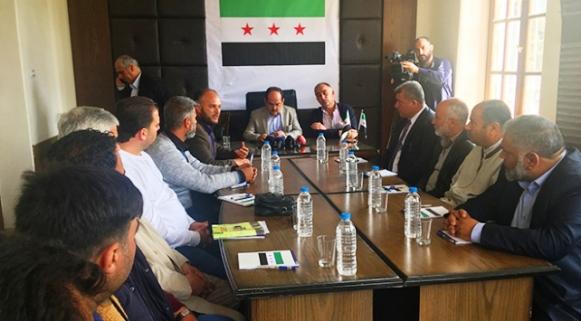 Afrin'de geçici yerel meclis kuruldu...