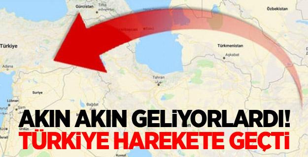 Akın akın geliyorlardı! Türkiye harekete geçti