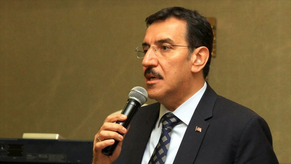 Gümrük Ve Ticaret Bakanı Tüfenkci: Piramit Yapıların Üzerine Gittik