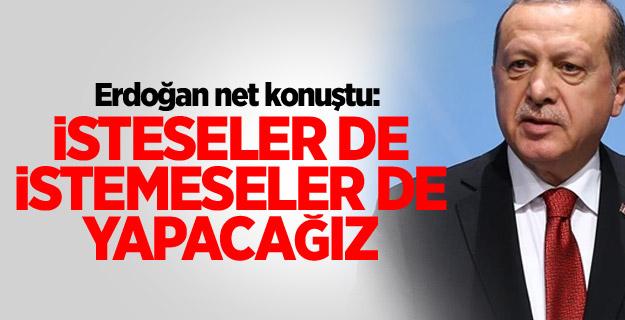 """Erdoğan: """"Kanal İstanbul'u yapacağız"""""""