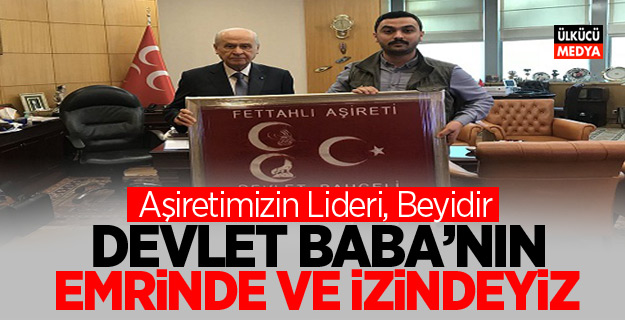 """Mustafa Fettahlı """"Devlet Baba'nın emrinde ve izindeyiz"""""""