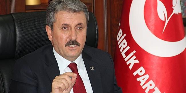 BBP Lideri Destici'den erken seçim açıklaması