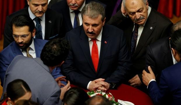 BBP lideri Destici'den CHP-İYİ Parti yorumu