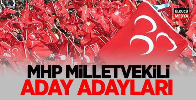MHP Milletvekili Aday Adayları (24 Haziran 2018)
