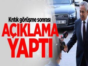 Bülent Arınç, Erdoğan ile görüşmesinden sonra açıklama yaptı