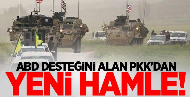 ABD desteğini alan PKK'dan yeni hamle!