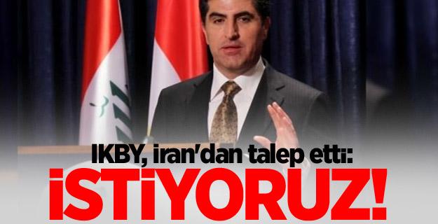 IKBY, İran'dan talep etti: İstiyoruz!