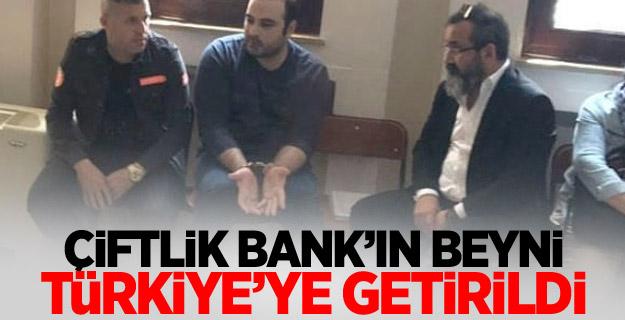 Çiftlik Bank'ın beyni Türkiye'ye getirildi