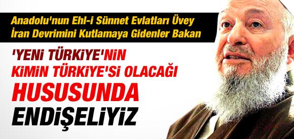 İSMAİLAĞA CEMAATİ'NDEN HÜKÜMETE SERT ELEŞTİRİ....