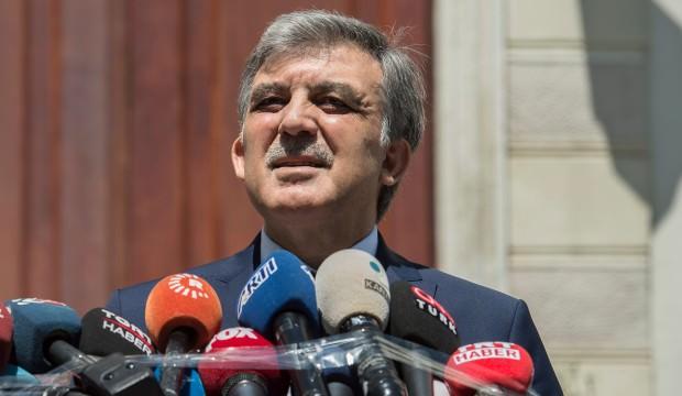 Abdullah Gül'den açıklama! Tehdit yok