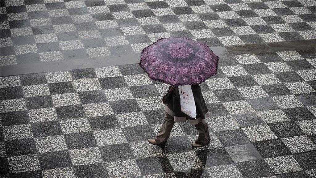 Meteorolojiden 9 İl İçin Yağış Uyarısı