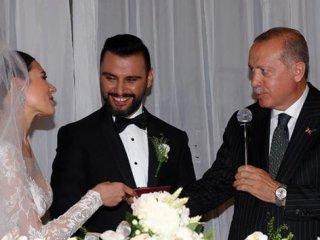 Ünlü sanatçının nikah şahidi oldu