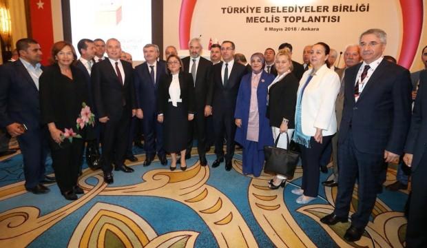Şahin, Türkiye Belediyeler Birliği Başkanı oldu!