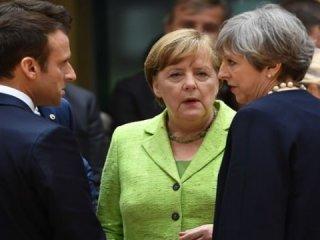 İngiltere, Fransa ve Almanya'dan ortak bildiri!