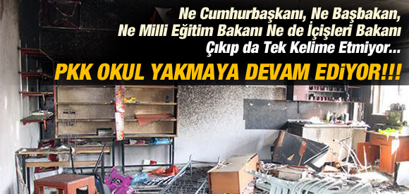 MARDİN'DE ANA OKULUNA MOLOTOFLU SALDIRI