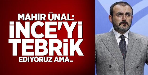 AK Parti'den 'İnce' sorusuna cevap