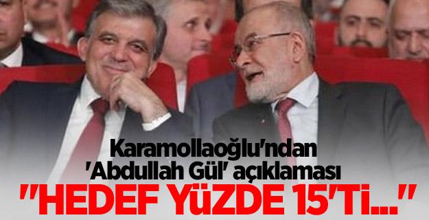 Karamollaoğlu, Gül operasyonunu ilk kez anlattı!