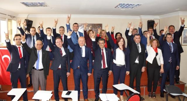 MHP Aydın Milletvekili Aday Adaylarını Tanıttı