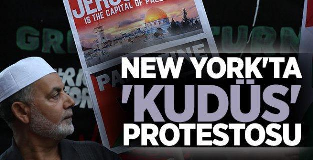 ABD'de Kudüs protestosu