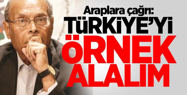 Araplara çağrı: Türkiye'yi örnek alalım