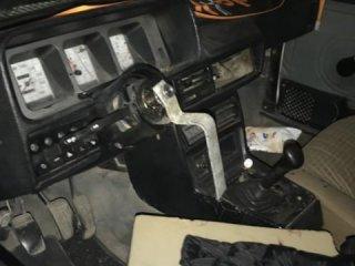 Kaza yapan aracı görenler şaşkına döndü