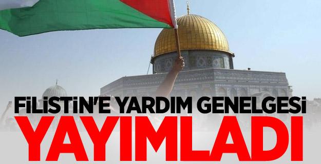 Başbakanlık, Filistin'e Yardım Genelgesi yayımladı