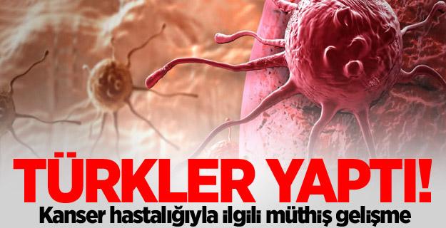 Türkler yaptı! Kanser nefesten teşhis edilecek