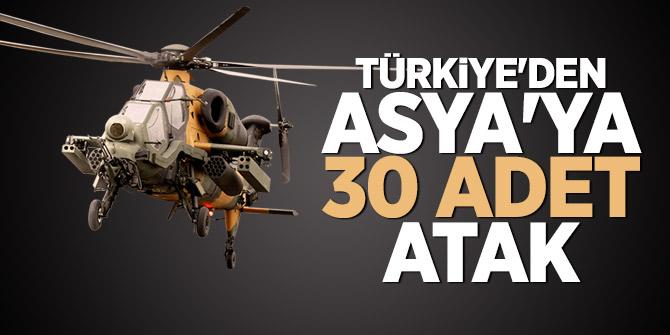 Türkiye'den Asya'ya 30 adet ATAK