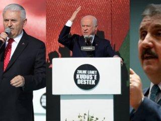 Liderler Yenikapı'da Yüz binlere seslendi!