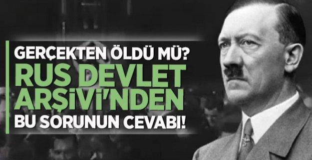 Adolf Hitler'in ölüm tarihi kanıtlandı!