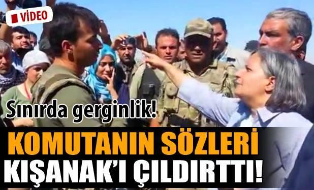 Askerden Kışanak'a: Burası benim devletimse...