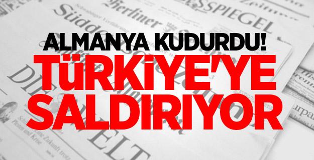 Almanya kudurdu! Türkiye'ye saldırıyor