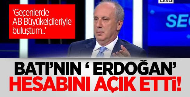 Batı'nın ' Erdoğan' hesabını açık etti!