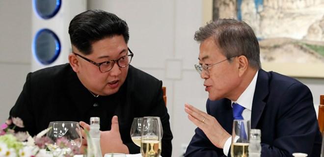 Kuzey Kore ile Güney Kore liderlerinden sürpriz buluşma