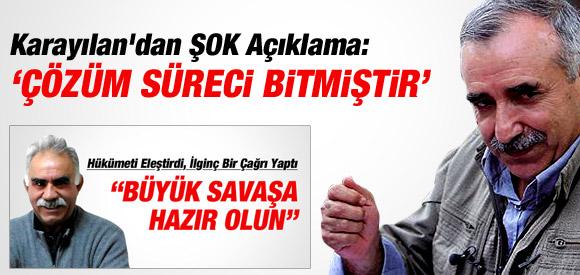 PKK'LI MURAT KARAYILAN'DAN TÜRKİYE TEHTİDİ !