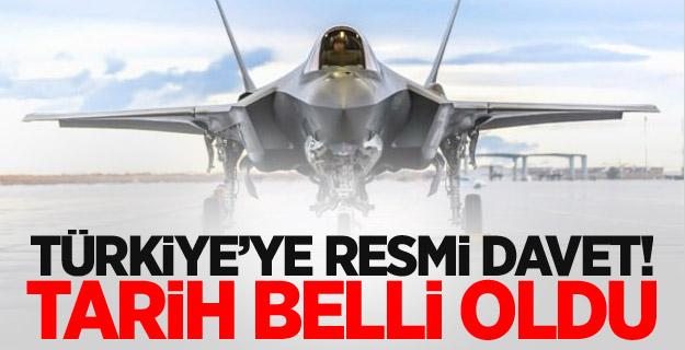 Türkiye'ye resmi davet! Tarih belli oldu