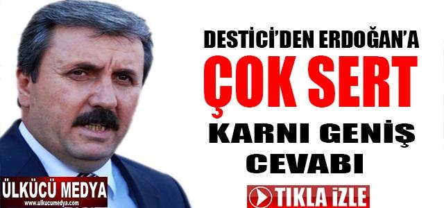 MUSTAFA DESTİCİ'DEN ERDOĞAN'A ÇOK SERT KARNI GENİŞ CEVABI !